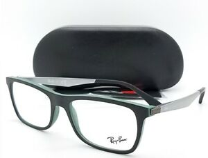 eee3ee297d4 NEW Rayban Prescription Frame Black RX7062 5197 55mm 7062 AUTHENTIC ...