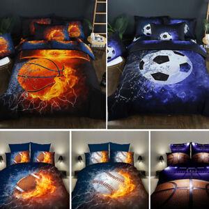 3D-Football-Basketball-Bedding-Set-Soccer-Duvet-Cover-Pillowcase-Comforter-Cover