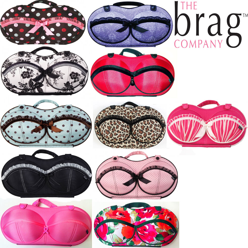 The Brag Company Bra Bags - Travel, Home or Gift for Her - 10 Patterns