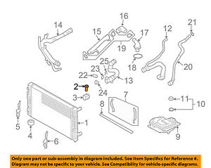 for 2002-2005 Audi A4 Radiator Support 2004 2003