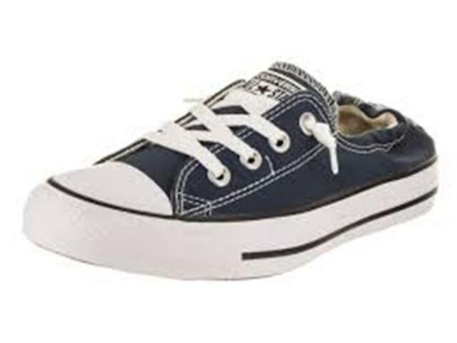 Converse Women s Chuck Taylor Shoreline Slip Casual Sneaker Shoes 537080F  Navy 9e0c728e46