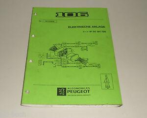 Pleasant Workshop Manual Peugeot 106 Wiring Diagrams Stand 02 1993 Ebay Wiring 101 Breceaxxcnl