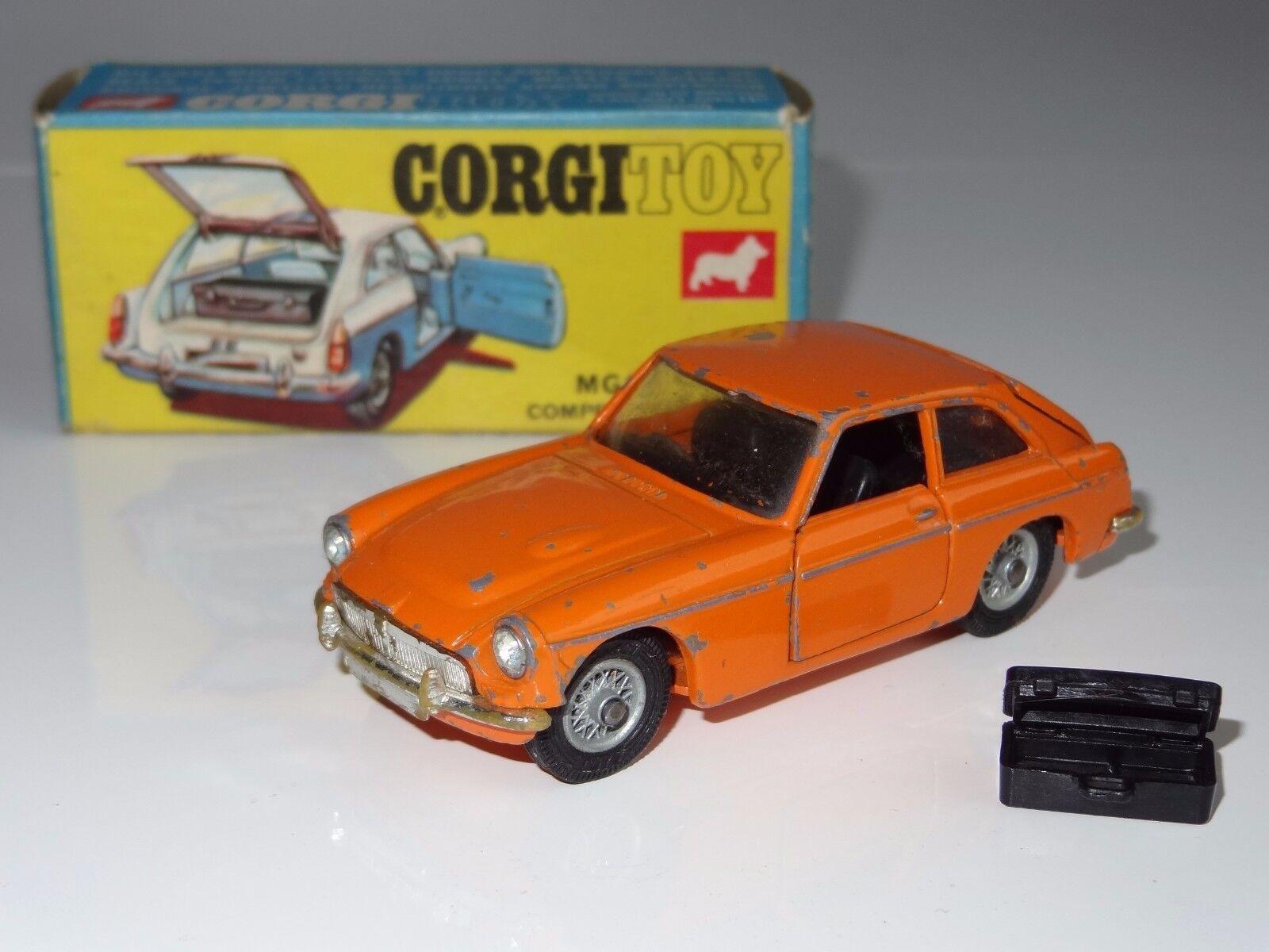 (V) CORGI MGCGT - 345 rare orange model