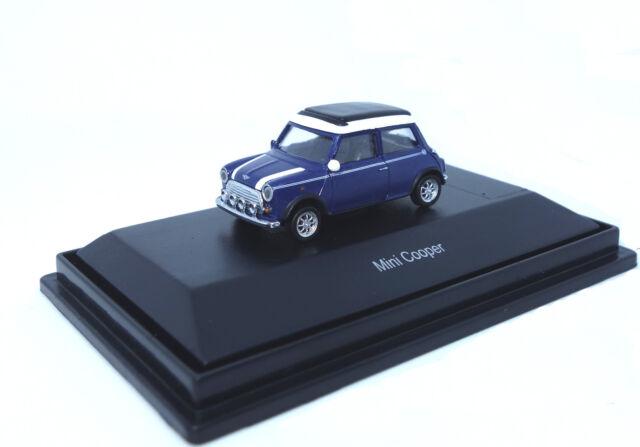 SCHUCO  - MINI COOPER - blau - 1:87 - 26161 - Modellauto - Neu