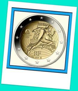 2 Euro Gedenkmünze Frankreich 2021 Olympische Spiele 2024 Paris