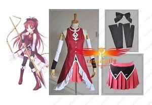 Puella-Magi-Madoka-Magica-Kyoko-Sakura-Cosplay-Costume-Custom-Made-Any-Size