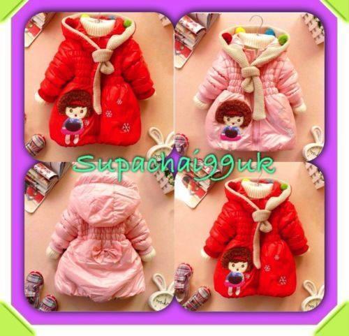 Le neonate bolla Inverno Cappotto Giacca con cappuccio cartoon Snowsuit Outwear IMBOTTITO