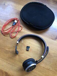 Jabra Evolve 65 Wireless Headset Uc Mono Ebay