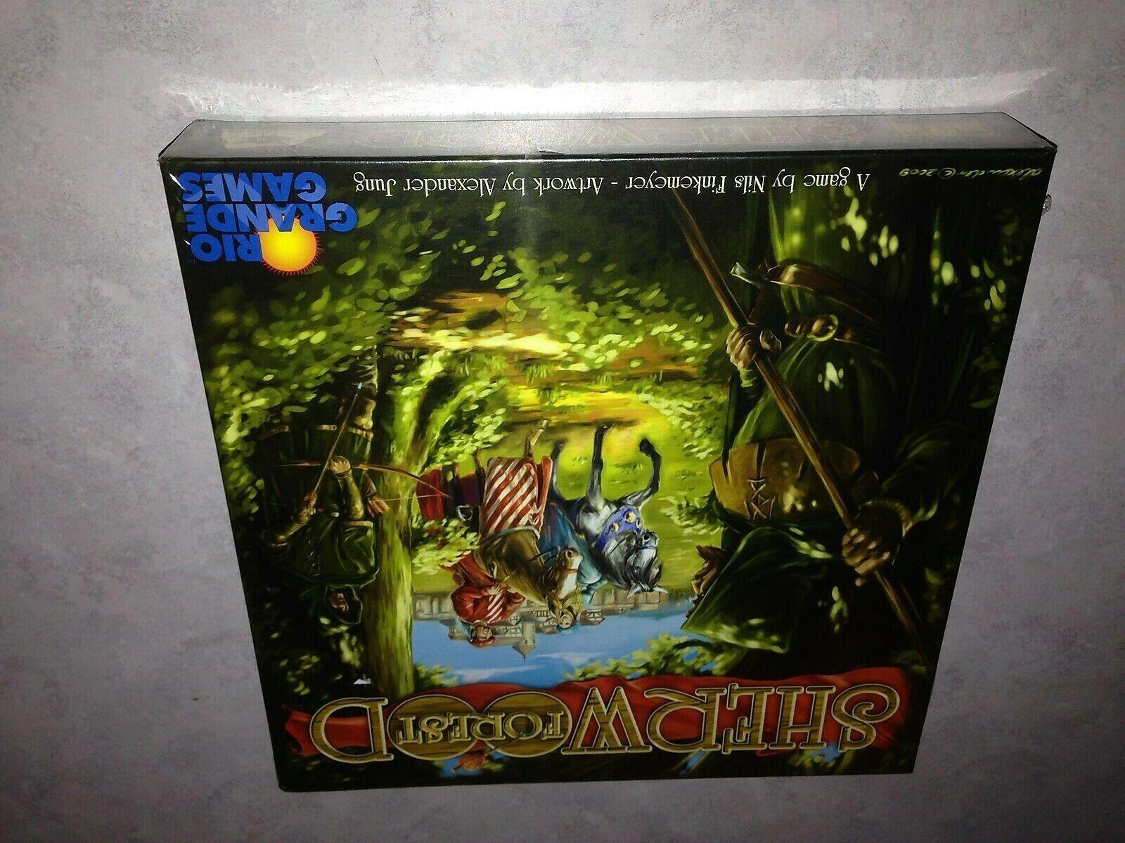 Sherträ Forest Board spel Nils Finemeyer  Eggertsiele  Rio Grande NEW Fritt fkonstyg