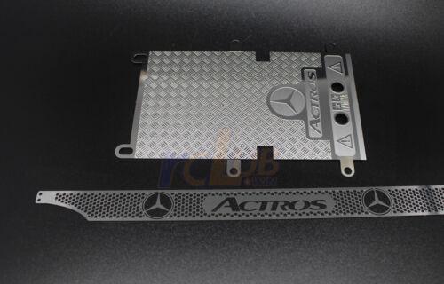 Rear tailga 1//14 1:14 Tamiya actros 1851 3363 metal front grille super actros