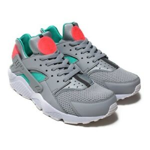 f349d4f2683a Image is loading Nike-Air-Huarache-Wolf-Grey-Sunset-Pulse-318429-