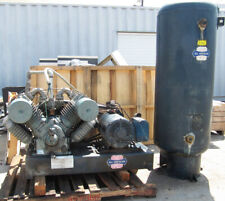 All American 25 Hp Air Compressor 101 Cfm 120 Gal Vertical Tank