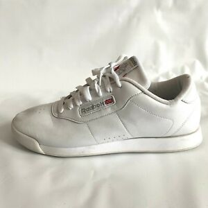 Reebok-Shoes-Classic-White-Princess-Low-Top-Sneakers-Women-039-s-Size-10