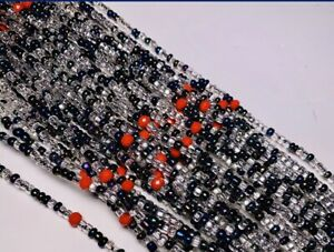 Exotic-Unique-African-Waist-Beads-Bellybeads-Made-in-Ghana-Fits-m-l-and-s