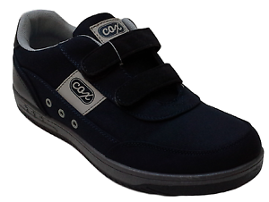 quality design c01ff 6577f Dettagli su Scarpe Uomo Casual, Sneakers, passeggio a strappo. COX 9990/4.  Tela + Ecopelle.