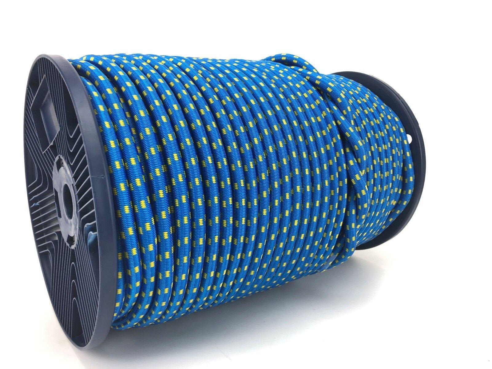 10mm Corde élastique corde x 15 mètres mètres mètres ( bleu avec jaune moucheté) 0ccd03