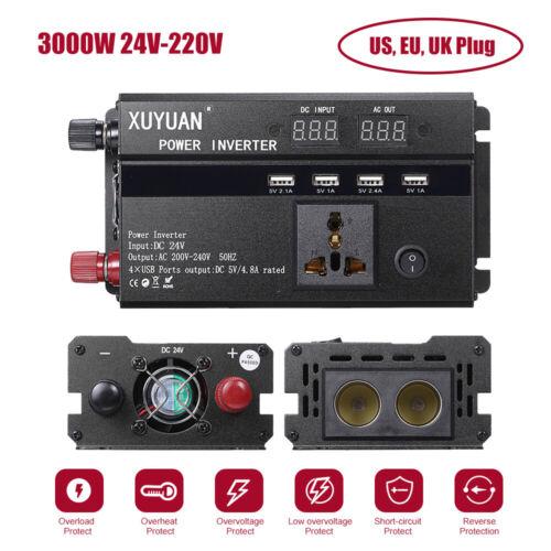 24V 110 220V CC à L2B1 Onduleur de voiture 3000W 4000W 5000W 12V