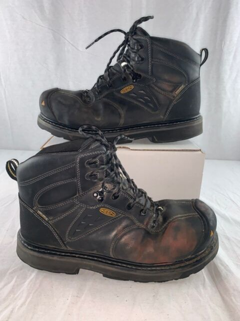 3e7978389fa KEEN Utility Men's Tacoma Waterproof Work Boot 1015395 Size 12 D
