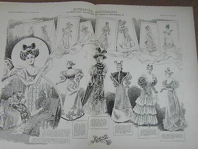 L' ART ET LA MODE - 1892 - No 48 - ILLUSTREE - AUTREFOIS ET AUJOURD HUI