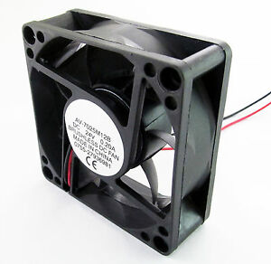Brushless-DC-Cooling-Fan-7-Blade-12V-70-x-70-x-25mm-7025