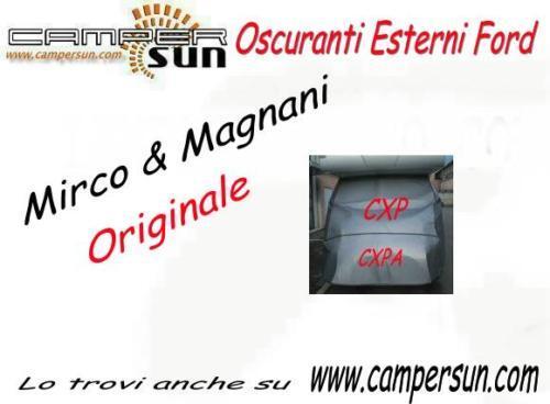 16206 OSCURANTE TERMICO MIRCO FORD CAMPER FORD MIRCO 2° DIVISIBILE ANNO 1986/97 CAS 9fe05f