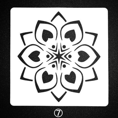 13cm Mandala Stencil Mandala Dot Painting Scrapbooking Art Crafts Pen Tools