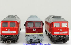 ESU-H0-alle-Arten-Farben-Diesellok-BR-232-DB-132-DR-Ludmilla-Sound-Rauch-DC-AC