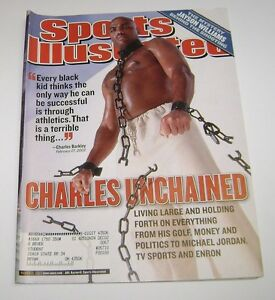 Vintage Sports Memorabilia 2002 Sports Illustrated Charles Barkley