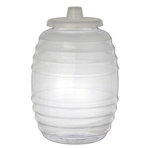 342f656e6a 3 Gallon Heavy Duty Ice Bucket Water Barrel Bottle Jug Big Opening ...
