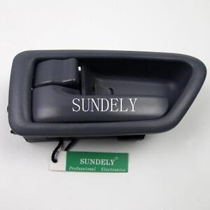 New grey front rear left driver side interior door handle for toyota camry 2000 ebay for 2002 toyota camry driver side interior door handle
