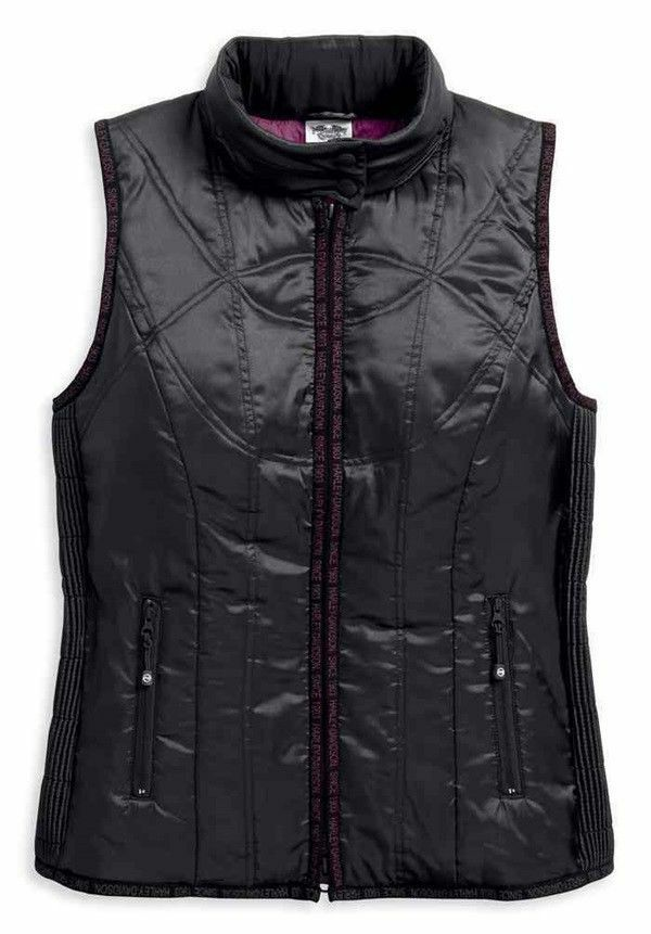97451-18VW Harley-Davidson® Women's Lightweight Hooded Puffer Vest