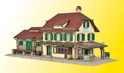 Audace Vollmer 43515 Traccia H0, Stazione Ferroviaria Därligen #neu In Ovp #-mostra Il Titolo Originale Giada Bianca