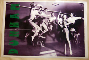 Large-Format-Dance-Art-Poster-of-Katherine-Dunham-Dancers-1946-36-034-x-24-034