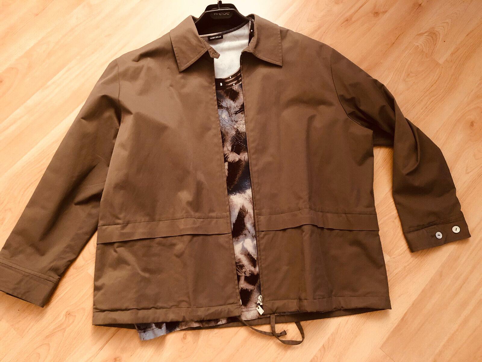 * GARY WEBER * Set Outfit Tshirt Jacke Blazer Gr.46 * TOP *