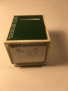 BOX OF 100 INDUSTRIAL SEWING NEEDLES B-64 SIZE 110 FREE SHIPPING