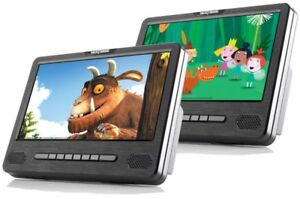 Nextbase-Car-9-034-Dual-DVD-Players-Headrest-Remote-Control-High-Resolution-LED