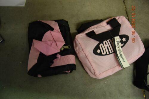 Noir et Rose BODYWRAPPERS HOLDALL sac de