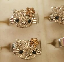 Hello kitty Childrens Adjustable Ring. UK SELLER