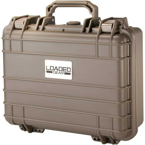 BARSKA Loaded Gear HD-200 Dark Earth Hard Case w/ Foam Padding, BH12174