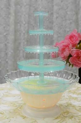 5 Tier Champagne Punch Beer Soda Water Wedding Cake Party Event  Drink Fountain