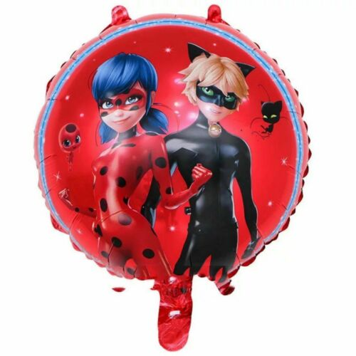 """18/"""" MIRACULOUS LADYBUG  Foil Balloons Birthday Party Decorations"""