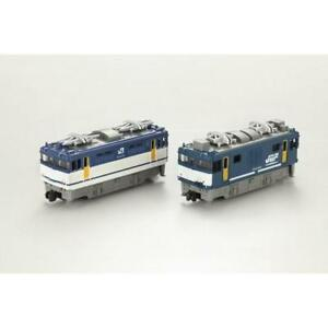 Bandai-B-Train-Shorty-EF64-Type-JR-Freight-Color-amp-Okayama-Color-2-Cars-Set-N