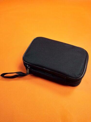 Bag for SANWA FLUKE HIOKI UNI-T Multimeters Double Layer Zipper Carrying Case