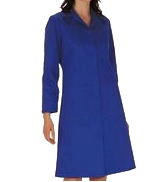 "PORTWEST S863 Ladies Standard WORK COAT Warehouse Laboratory NAVY Blue 44"" UK 20"
