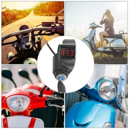 E-Bike Thumb Throttle Digital Battery Voltage Display Switch Power with Key Lock