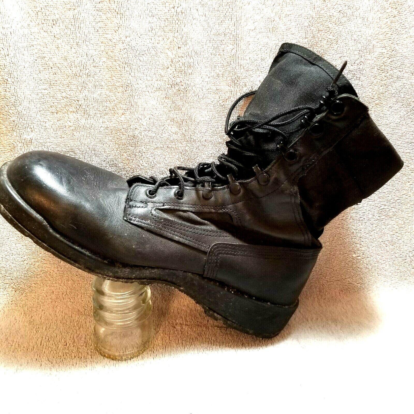 Belleville 390TRP Mens Combat Boots sz 10 R Hot Weather Black Duty Boot