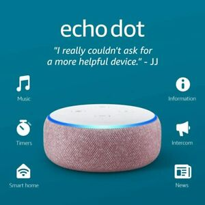 Amazon Echo Dot 3rd Gen. with Alexa Voice Media Device ...