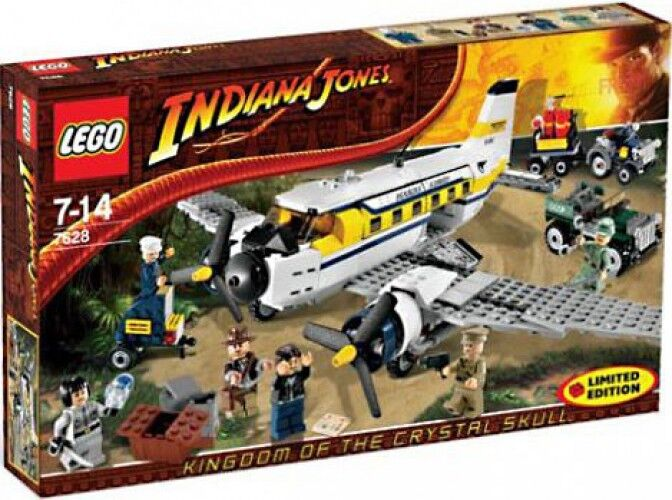 LEGO Indiana Jones Peril in Peru Exclusive Set