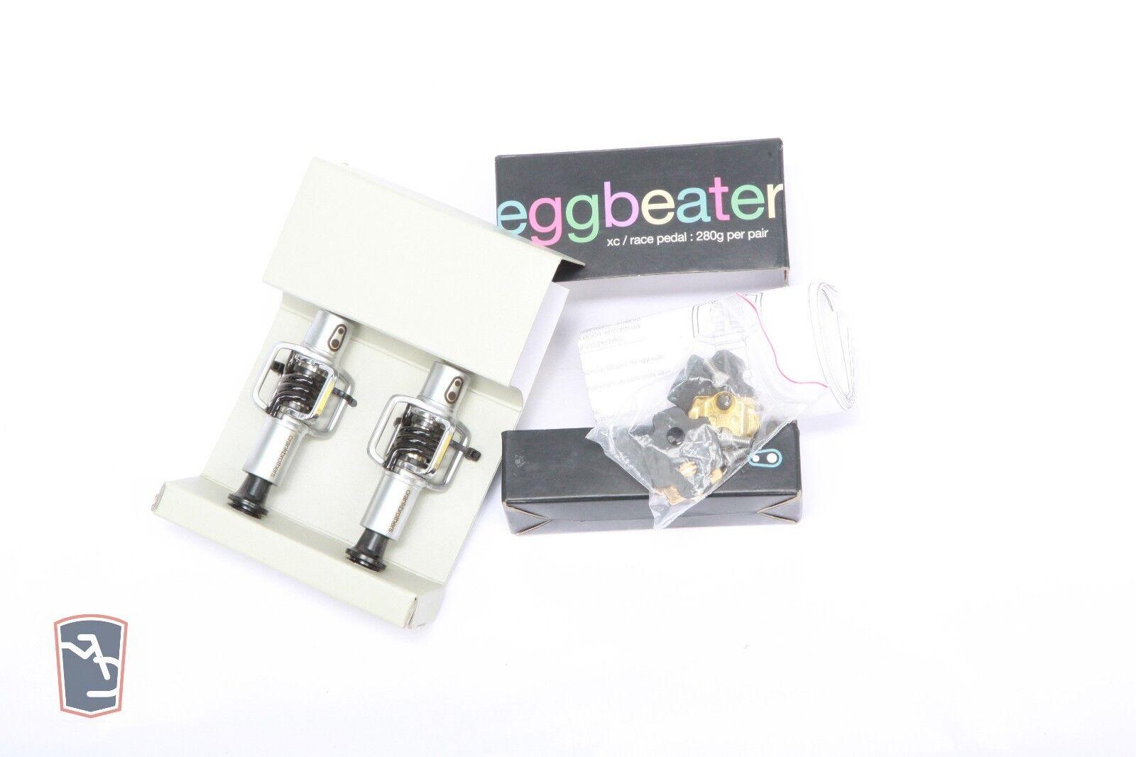 Crankbrother-Eggbeater 1 Pedale senza clip nero Mountain velocità in Discesa XC-A081