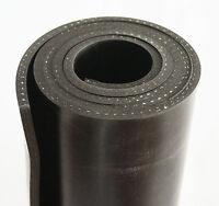 1000x80x5mm mit Gewebe Gummiauflage Gummi Gummistreifen Gummiplatte Gummimatte